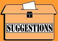 Orange Suggestions Box