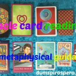 Oracle Card Readings For Metaphysical Guidance