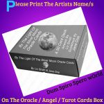 Please Put The Artists Name On The Oracle Cards Box